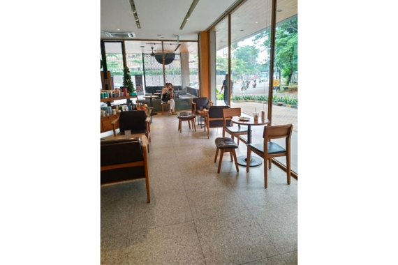 Coffee Shop - Jakarta, Indonesia | dPortico Collection